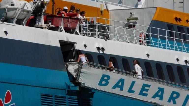 Almeria Melilla Balearia