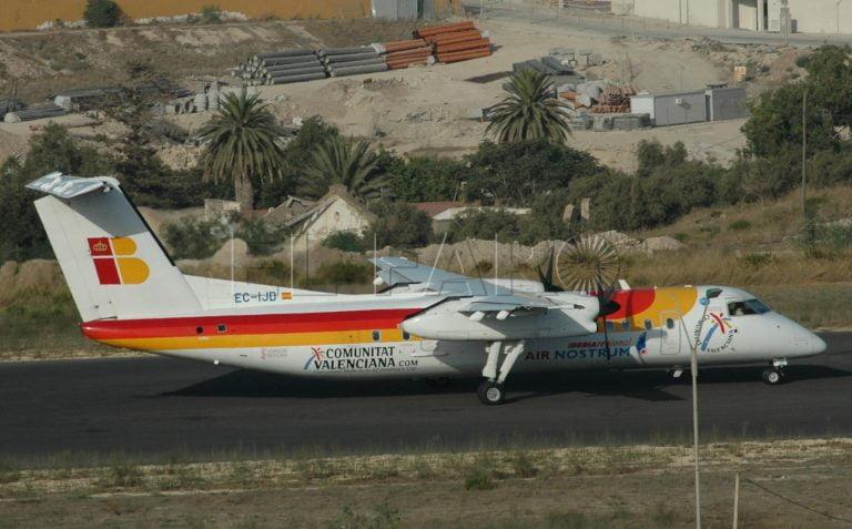 Avion Madrid Melilla