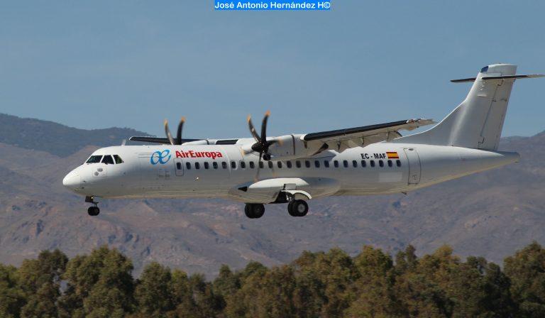 Aviones Malaga Melilla