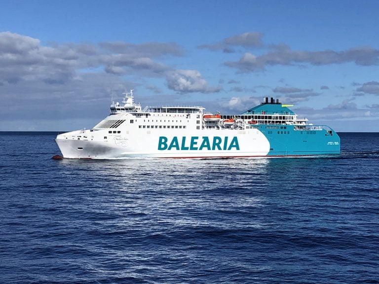 Balearia Malaga Melilla
