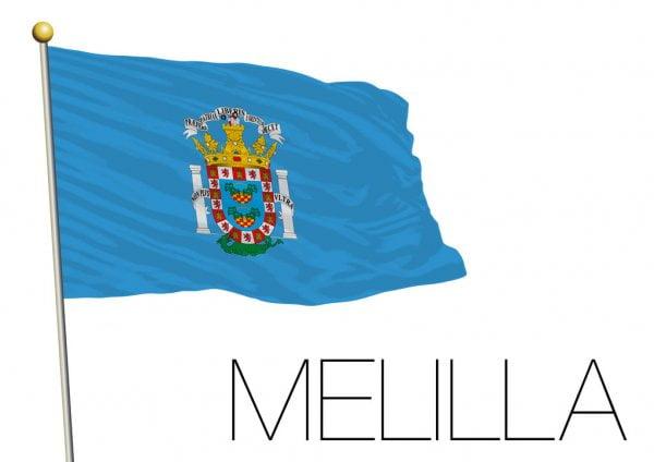 Bandera De Ceuta Y Melilla