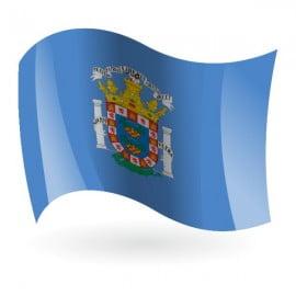 Bandera De Melilla Para Colorear