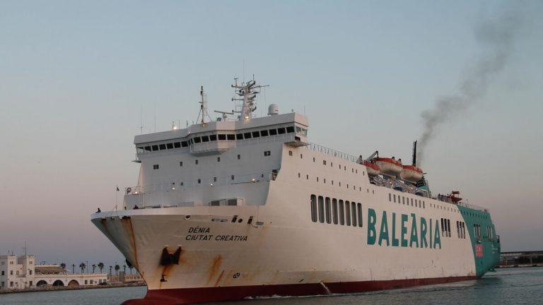 Barco Almeria Melilla Balearia