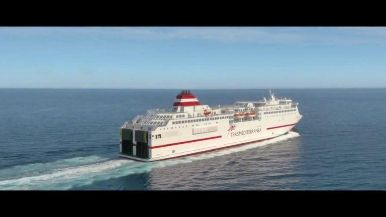 Barco Almeria Melilla Trasmediterranea