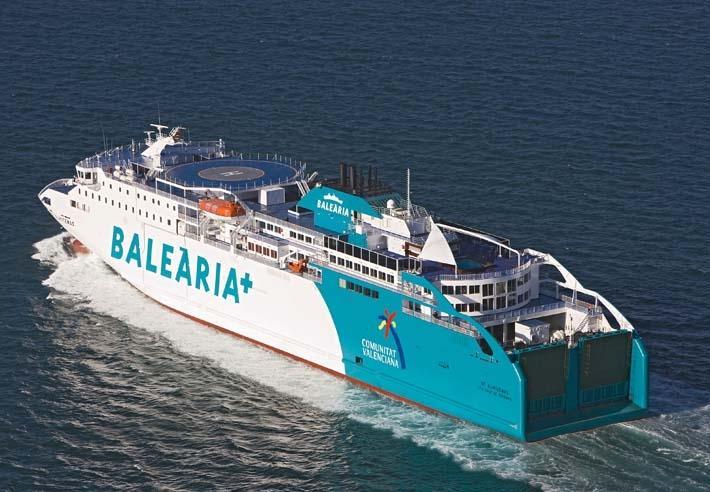 Barco Malaga Melilla Balearia
