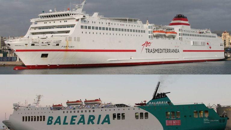 Barco Malaga Melilla Trasmediterranea