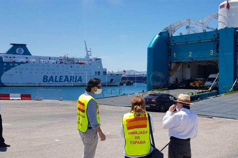 Barco Melilla Malaga Horarios