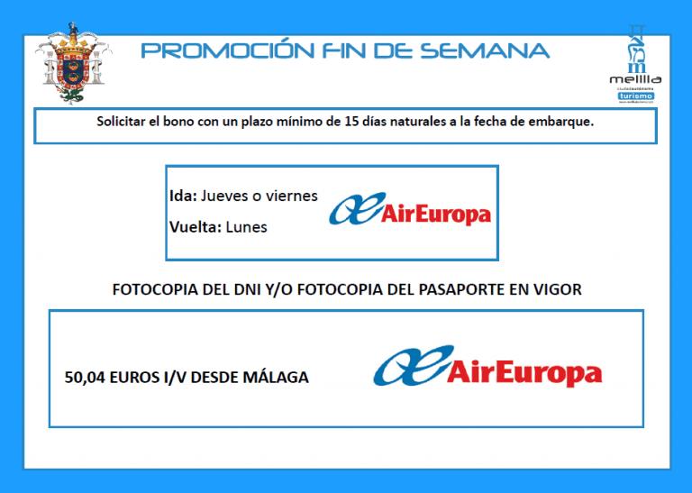 Bonos De Viaje Melilla 2020
