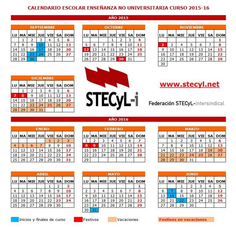 Calendario Melilla 2016