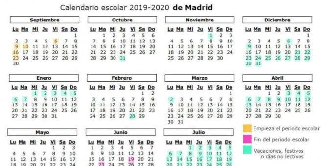 Calendario Melilla 2019