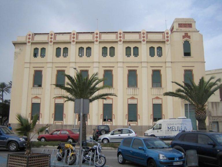 Calle Pablo Vallesca Melilla