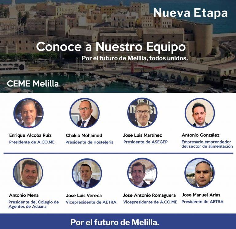 Candidatos Psoe Melilla