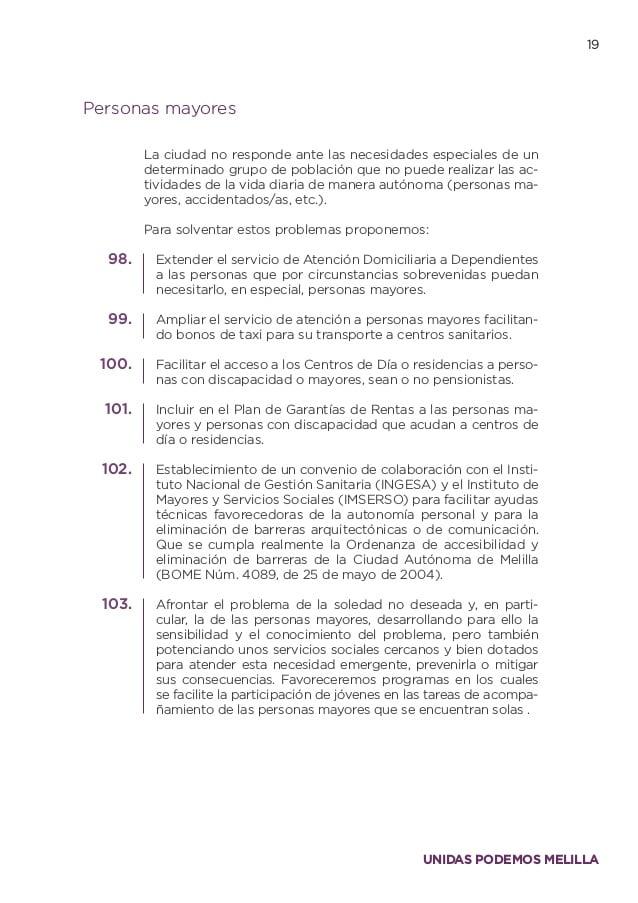 Centros Especiales De Empleo Melilla