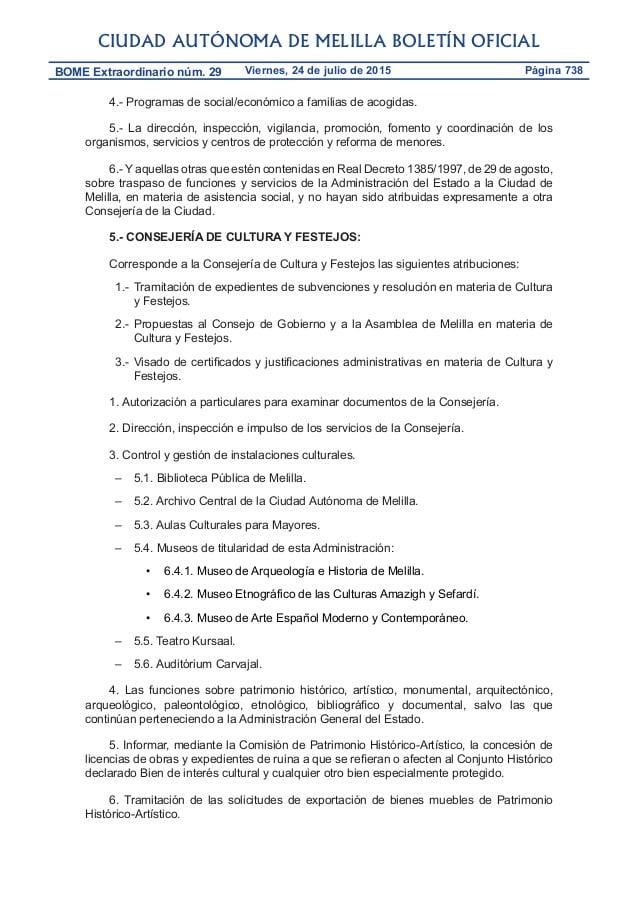 Certificado Historico De Empadronamiento Melilla
