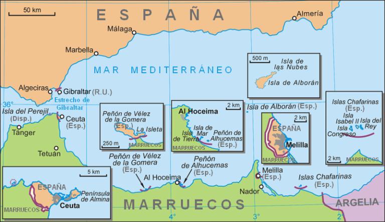 Ceuta Y Melilla Pertenecen A EspañA