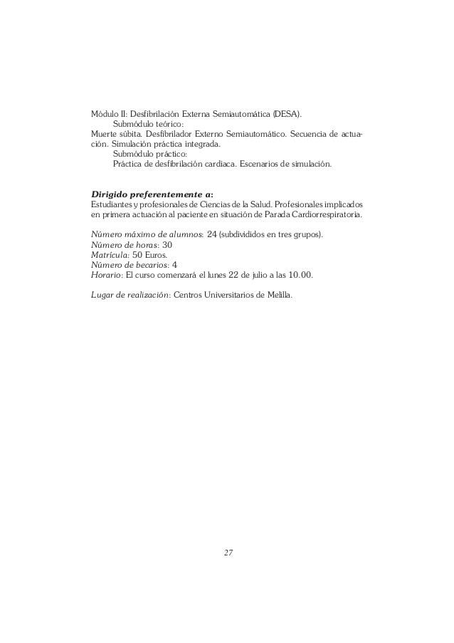Ciencias De La Salud Melilla
