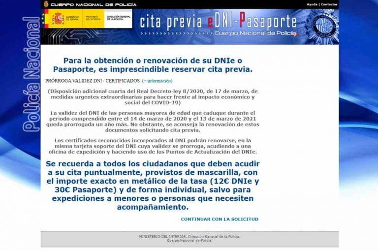 Cita Previa Dni Pasaporte Melilla
