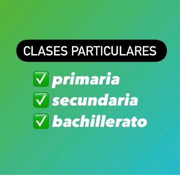 Clases Particulares Biologia Melilla