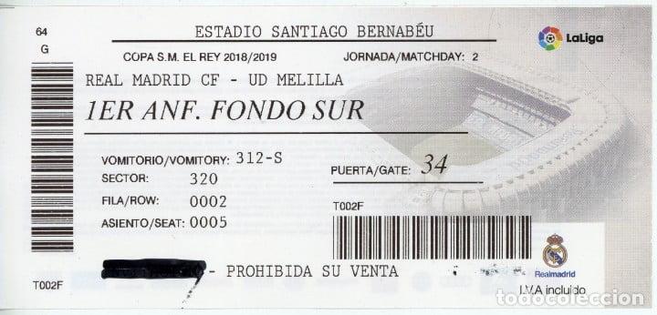 Comprar Entradas Real Madrid Melilla Copa Del Rey
