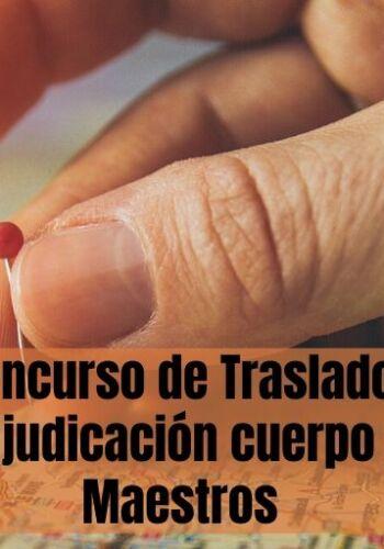 Concurso Traslados Secundaria Melilla