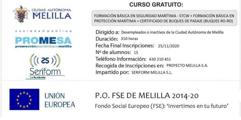 Cursos Promesa Melilla 2019