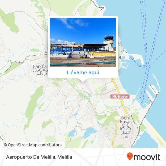 Direccion Del Aeropuerto De Melilla