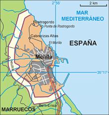 Donde Queda Ceuta Y Melilla
