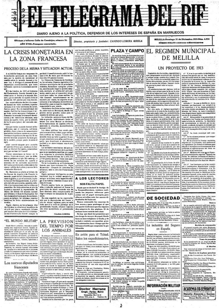 Eltelegrama De Melilla