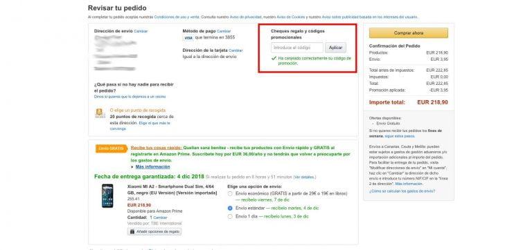 Envios Amazon A Melilla