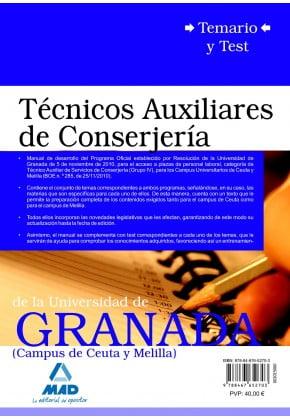 Examen Auxiliar Administrativo Melilla