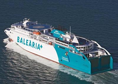 Ferry Almeria Melilla Balearia