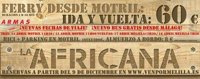 Ferry Motril Melilla Horarios Y Precios