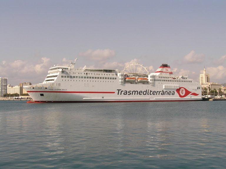 Ferrys Almeria Melilla