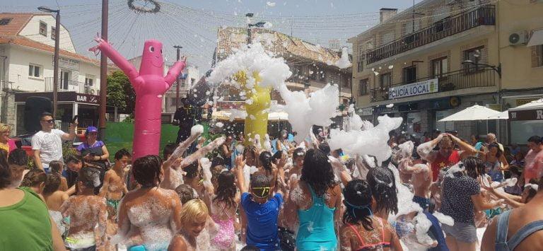 Fiesta De La Espuma Melilla 2019