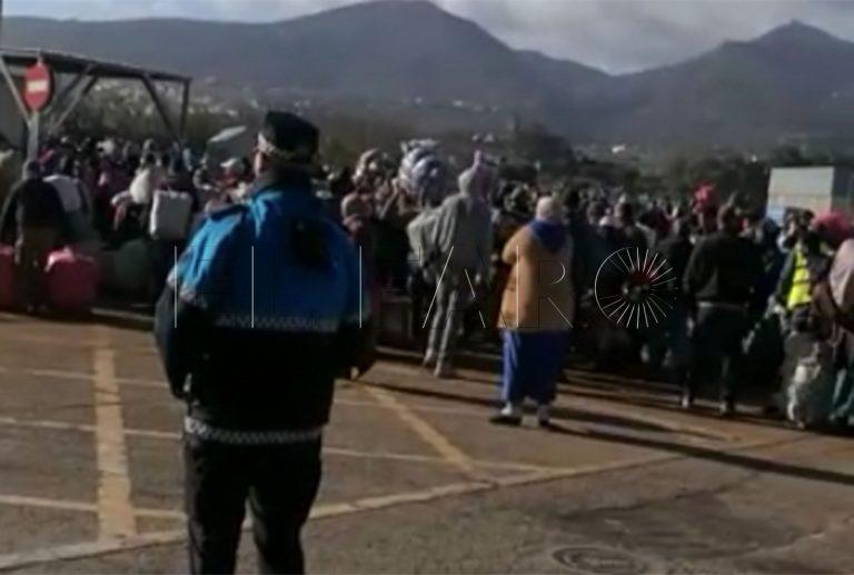 Frontera Melilla Beni Enzar