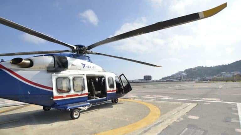 Helicoptero Malaga Melilla