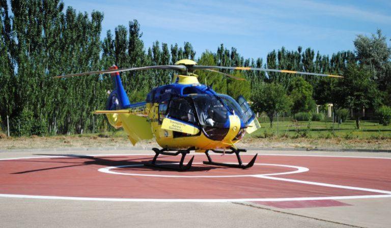 Helicoptero Sanitario Melilla