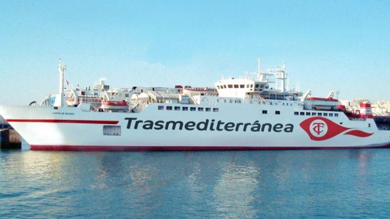 Horario Barco Trasmediterranea Melilla Malaga