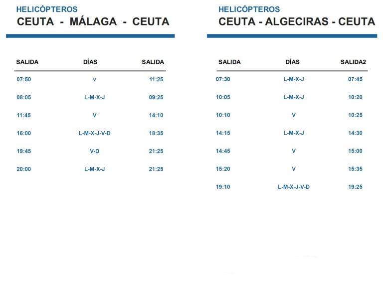 Horario Vuelos Melilla Madrid