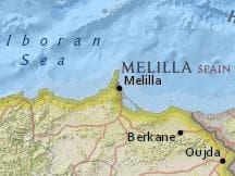 Latitud Longitud De Melilla