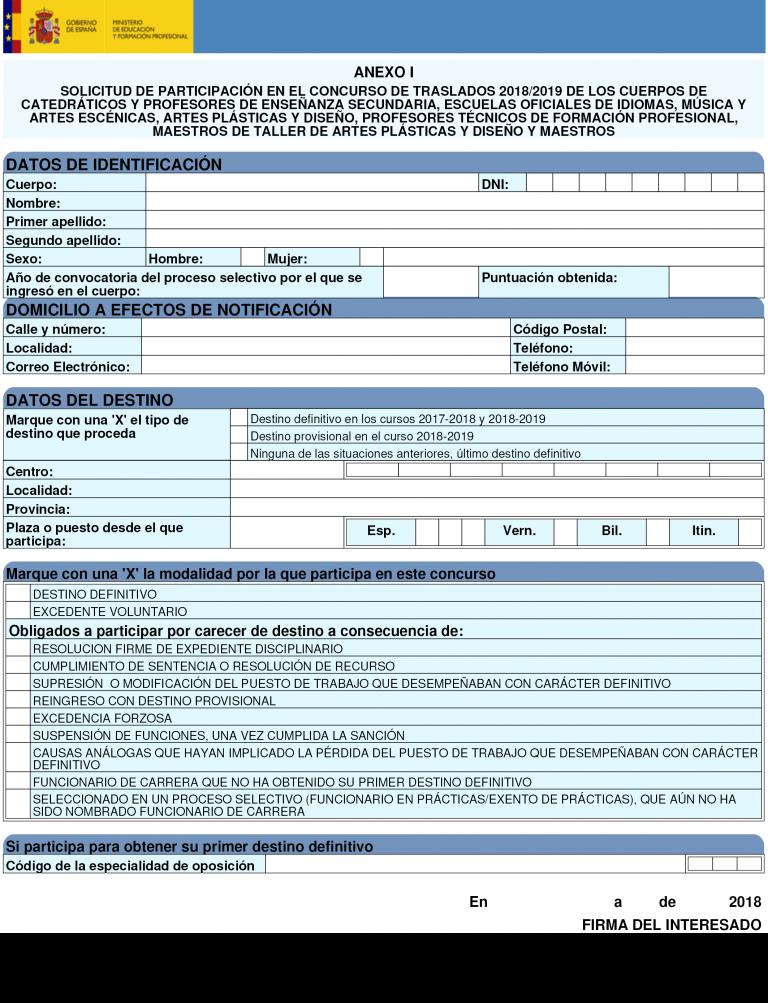 Listado Provisional Plan De Empleo 2018 Melilla