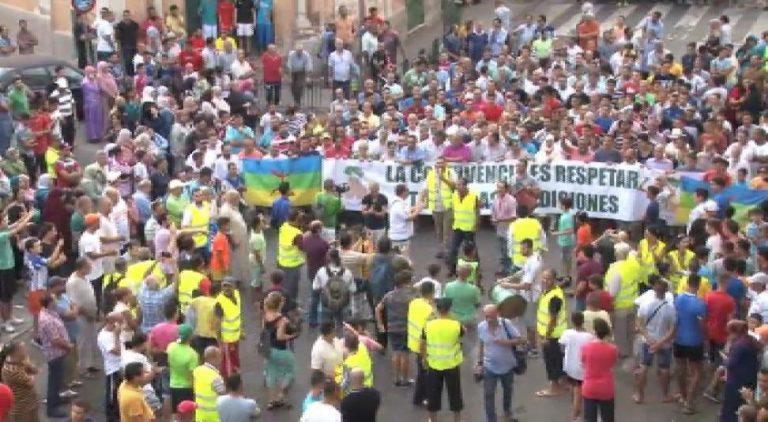 Manifestacion Melilla