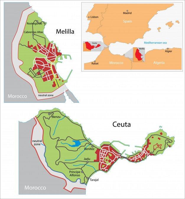 Mapas Melilla