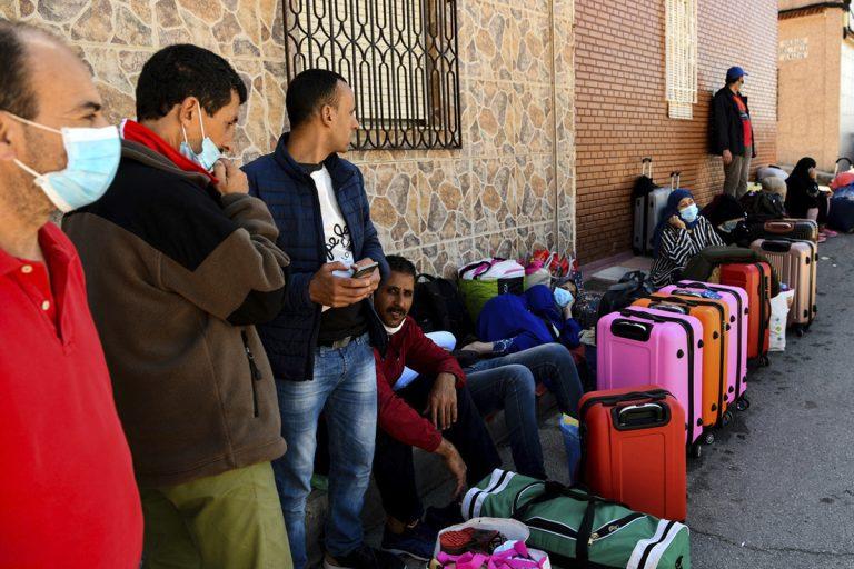 MarroquíEs Atrapados En Melilla