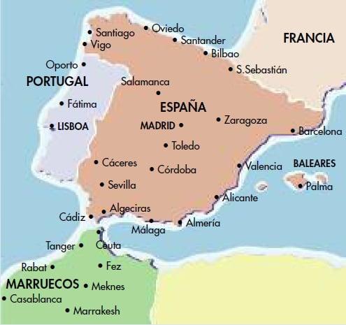 Marruecos Invade Ceuta Y Melilla