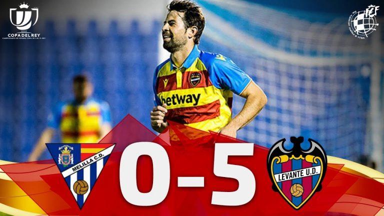 Melilla 0 Levante 5