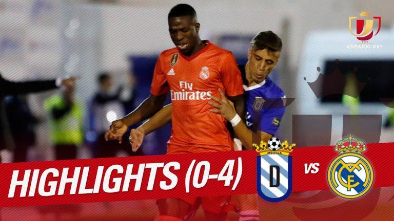 Melilla 0 Real Madrid 4