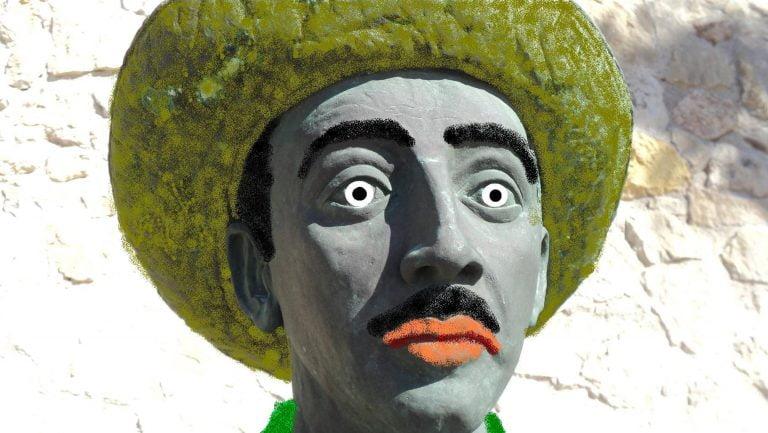 Melilla Estatua Franco