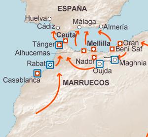 Melilla Frontera Con Marruecos
