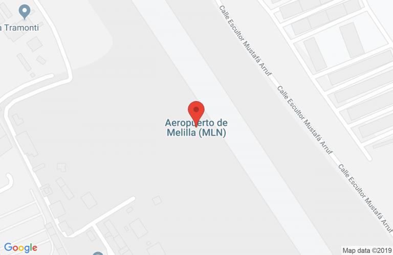 Melilla Google Maps